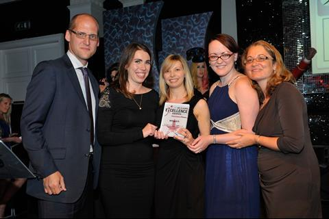 UK Claims Excellence Awards 2013 Outstanding Insurer Claims Team of the Year - winner